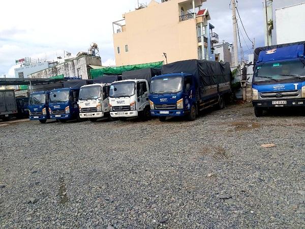 Xe tải chở hàng tại Huyện Củ Chi