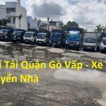 Taxi Tải Quận Gò Vấp – Xe Tải Chuyển Nhà